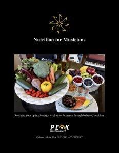Nutrition for Musicians - LaBella